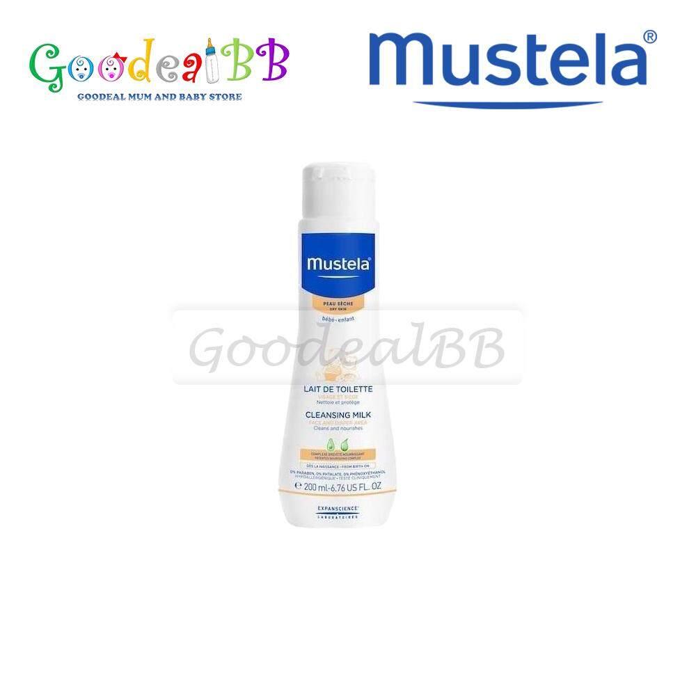 Mustela Buy At Best Price In Malaysia Stelatopia Emollient Cream Cleansing Milk 200ml