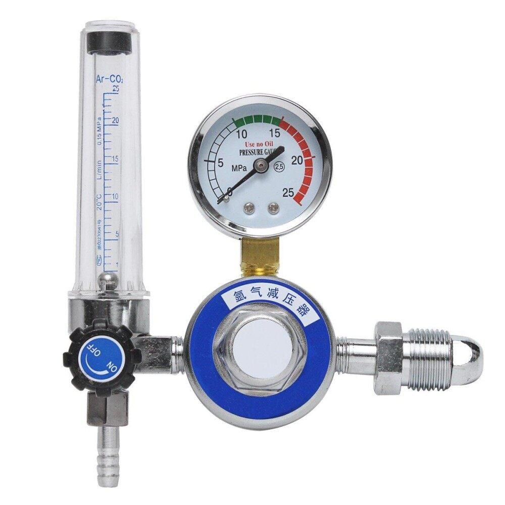 Argon CO2 Gas Mig Tig Flow Meter Reglator Welding Weld Gauge Welder G5/8 New