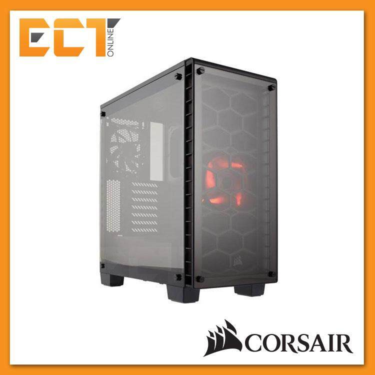 Corsair Crystal Series 460X Compact ATX Mid-Tower Case - Black Malaysia