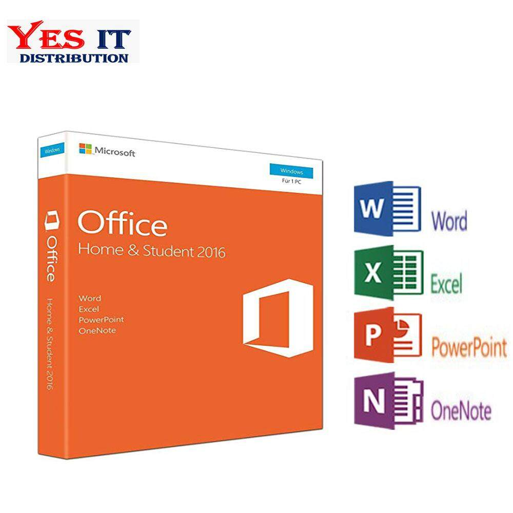 Microsoft Operating System Price In Malaysia Best Original License Windows 10 Pro Office 2016 Home And Student