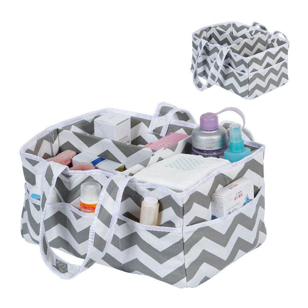 Leegoal Baby Diaper Caddy And Organizer / Premium Diaper And Storage Caddy Holds More Diapers Than Similar Products. Perfect For Nursery, Home, Car Or Travel Organization By Leegoal.