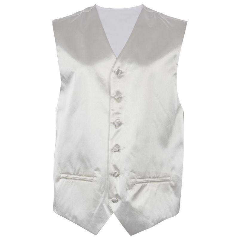 Mens Wedding Waistcoat Groom (ivory White Xl/uk 42) By Werinc.