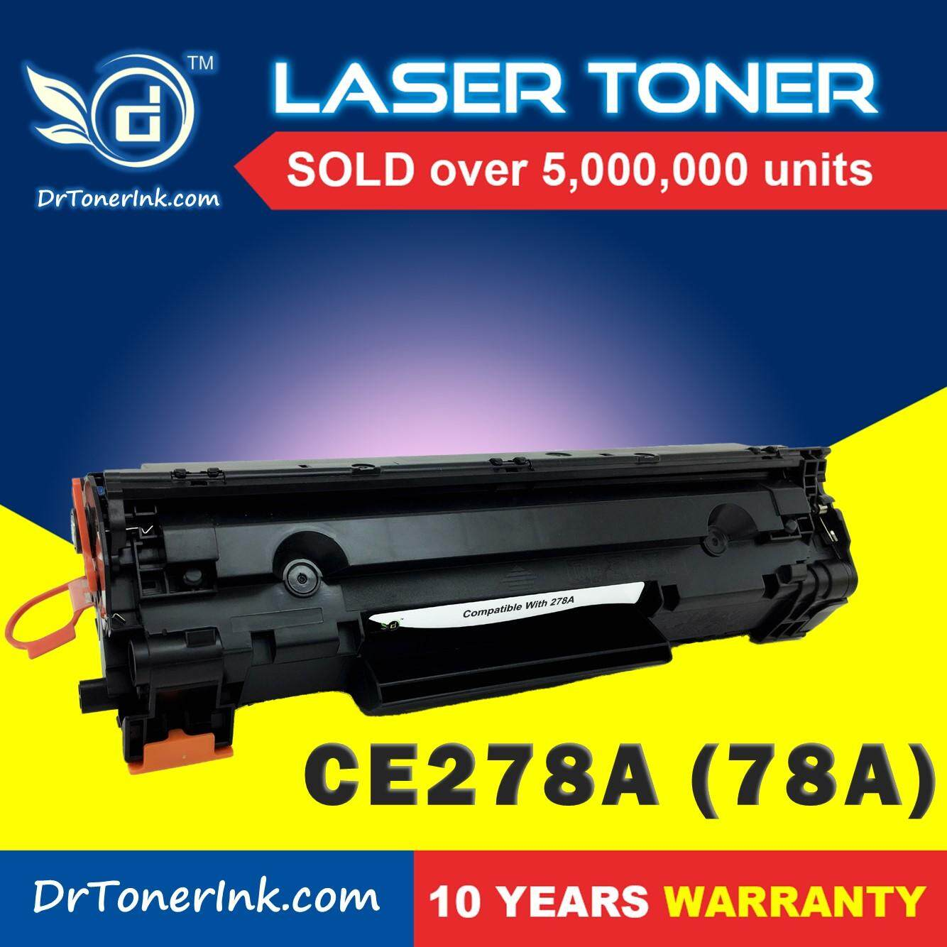Compatible DrToner HP - CE278A / 278 / 78A (Mono/Black) - LaserJet Pro  P1566 / P1606dn / M1536dnf - Low Cost and Affordable