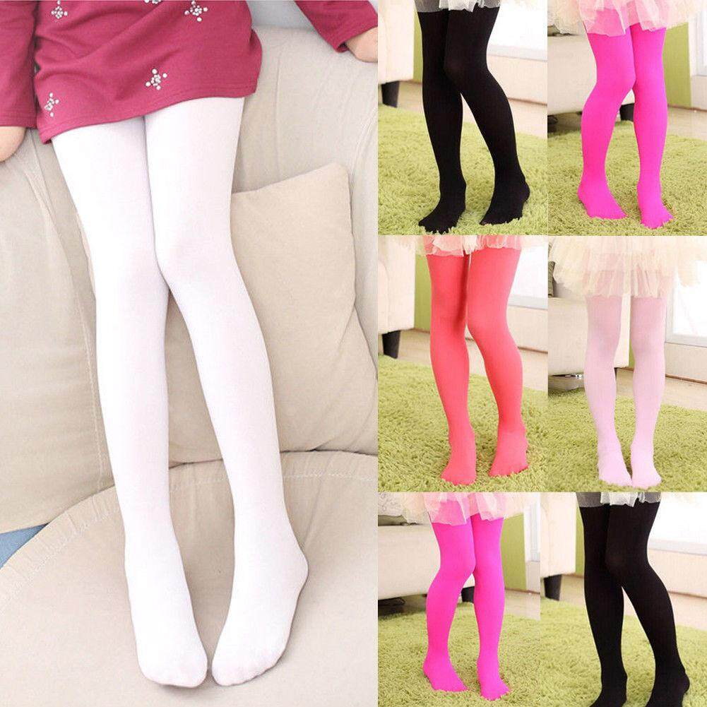 9b96183036248 Girls Kids Tights Velvet Pantyhose Hosiery Ballet Dance Socks Candy Colors  Gift