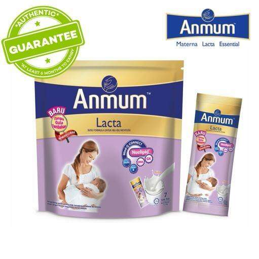 Anmum Lacta Plain No Added Sugar - 7s X 36gm By Lazada Retail Anmum.