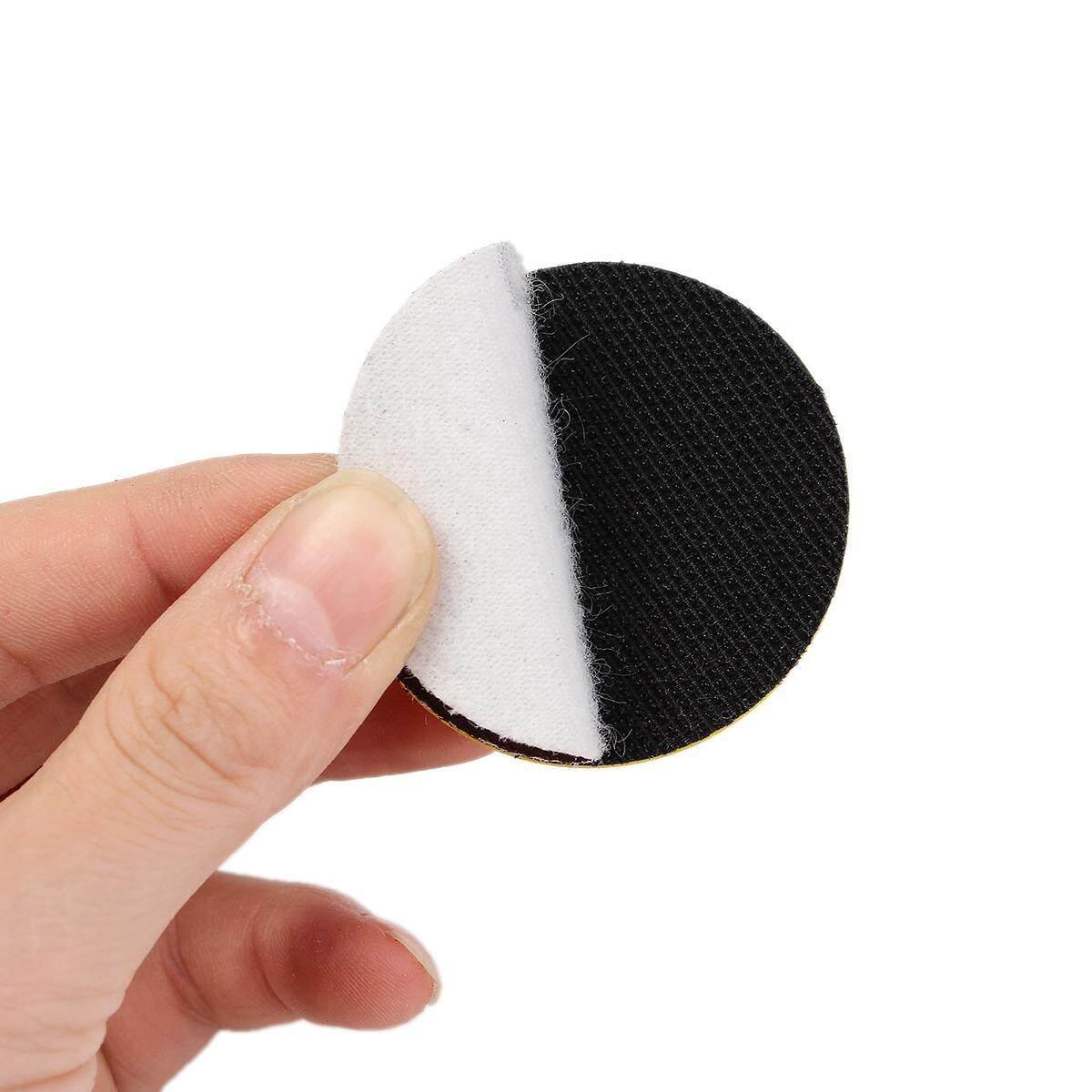 60Pc Sandpaper Disc 2/'/' 50mm Hook /& Loop Sanding Sander Backing Pad Palm Shank