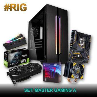 Custom Gaming PC -  Intel Master Gaming A (i7-8700k / 16GB / 256GB SSD + 1TB HDD / RTX 2080)