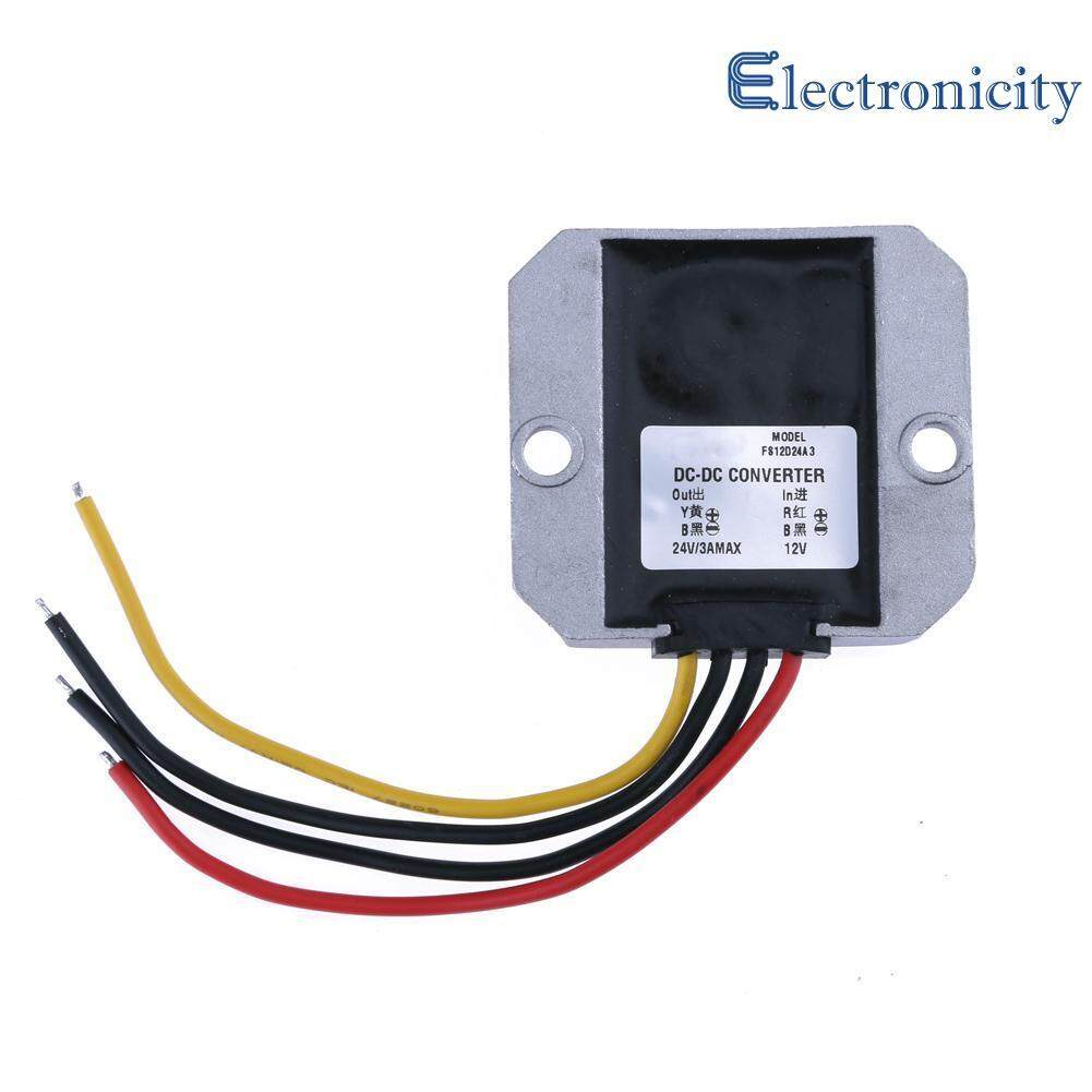 Dc-Dc 12v To 24v 3a 72w Boost Buck Converter Non-Isolated Power Converter By Electronicity.