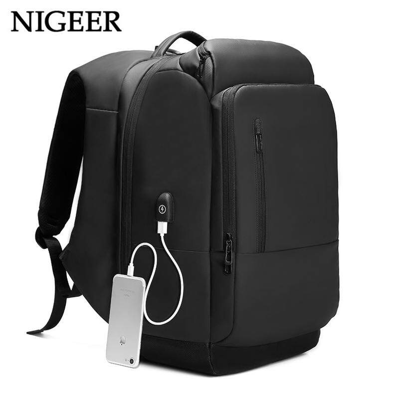 b76c59d2d13 17 inch Laptop Backpack For Men Business Waterproof Backpacks USB Charging  Large Capacity Bag Casual Travel