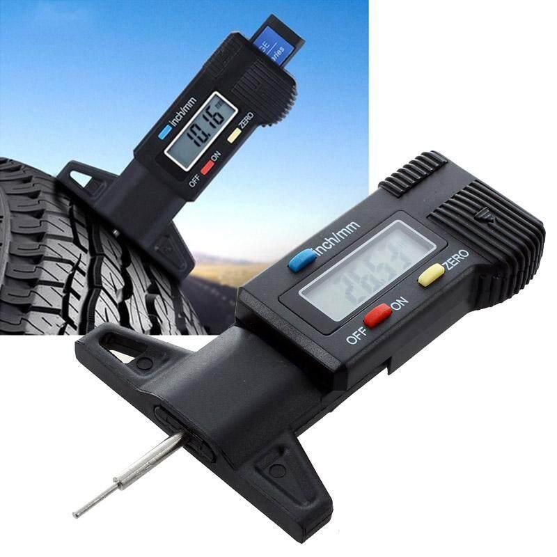 Digital Depth Gauge Caliper Tread Depth Gauge Lcd Tyre Tread Gauge By Happyang.