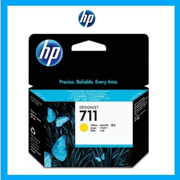 [Ready Stock] HP 711 Yellow ink cartr - T120/520 29ml