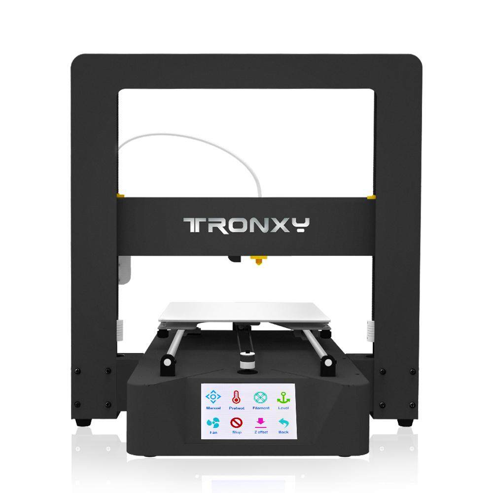 Tronxy Desktop 3D Printer with Touch Screen Auto Leveling Resume Print Filament Runs Out Detection Printing Size 220*220*220mm, 250g PLA Filament Sample