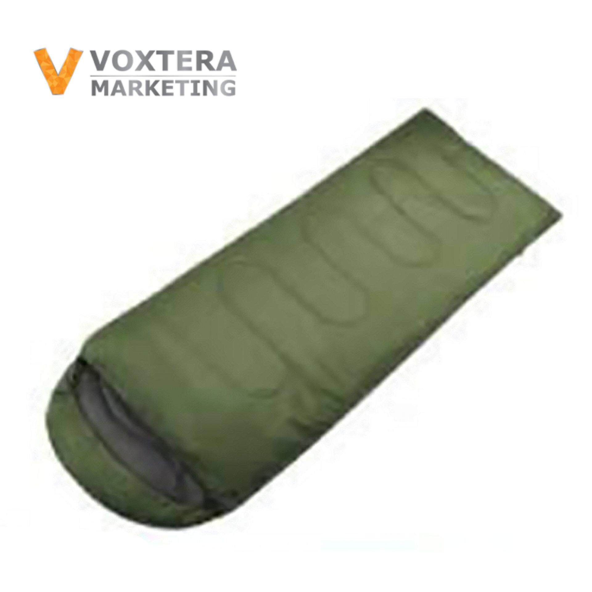 c35c3b1798c KimJu - Korean Style Lightweight Polyester Water Resistant Portable Large  Size Sleeping Bag (Army Green