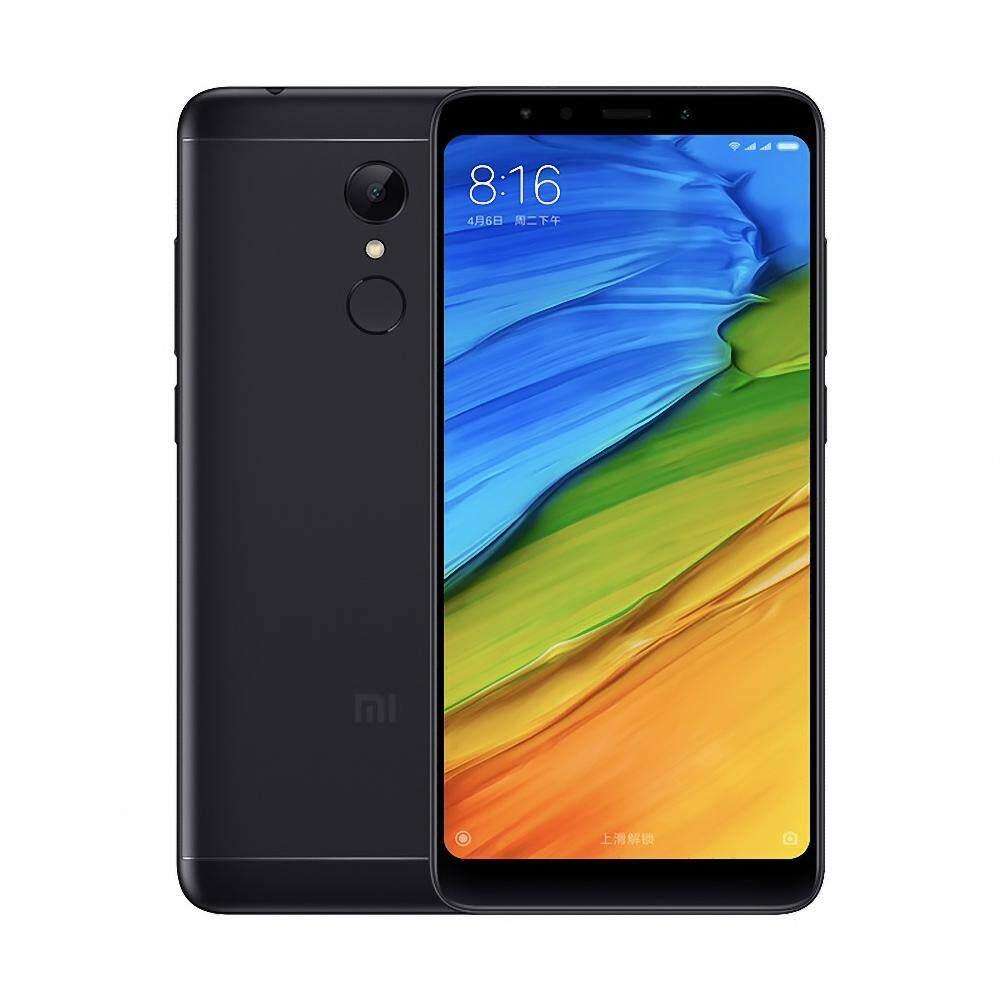 Global Version Xiaomi Redmi 5 Mobile Phone 2GB 16GB 5.7-inch 18:9 Display Smartphone Qualcomm Snapdragon 450 Octa Core MIUI 9 Fingerprint (Black)