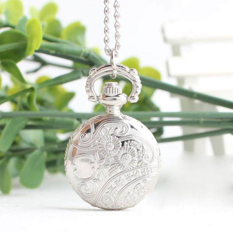 Amart Retro small Size Spider Webs Pocket Watch/Watch Necklace Fashion Jewelry Pendant Watch Necklace Malaysia