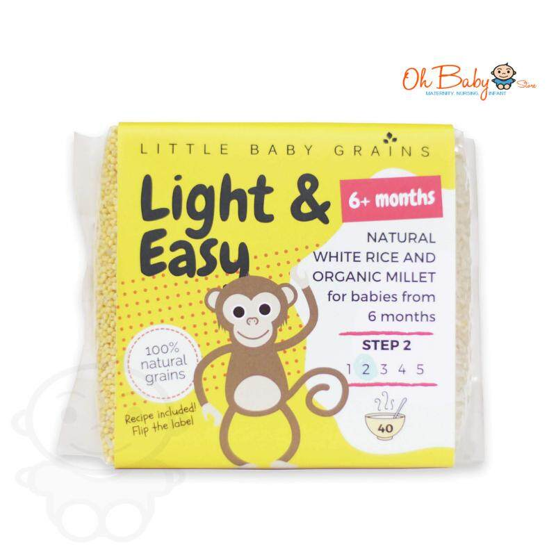 Little Baby Grains - Light & Easy 6m+ (520g) By Oh Baby Store.