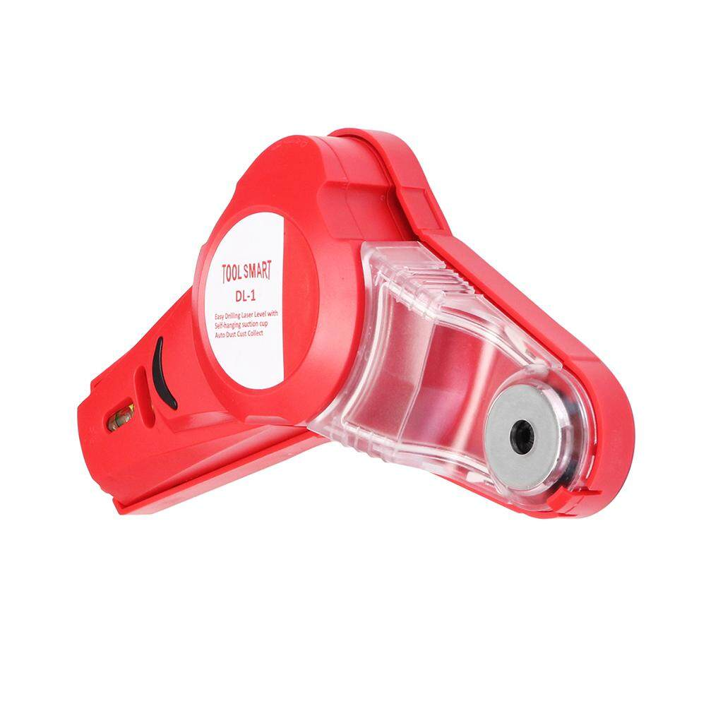 【Free Shipping + Global Collection 】 Drillpro 650nm Laser Level Tools Infrared Laser Level Locator Easy Drilling Dust Collector