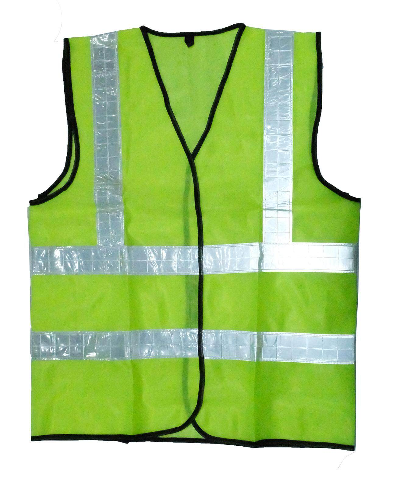 Reflective Safety Vest with Four Reflective Strip Velcro Type Model 724