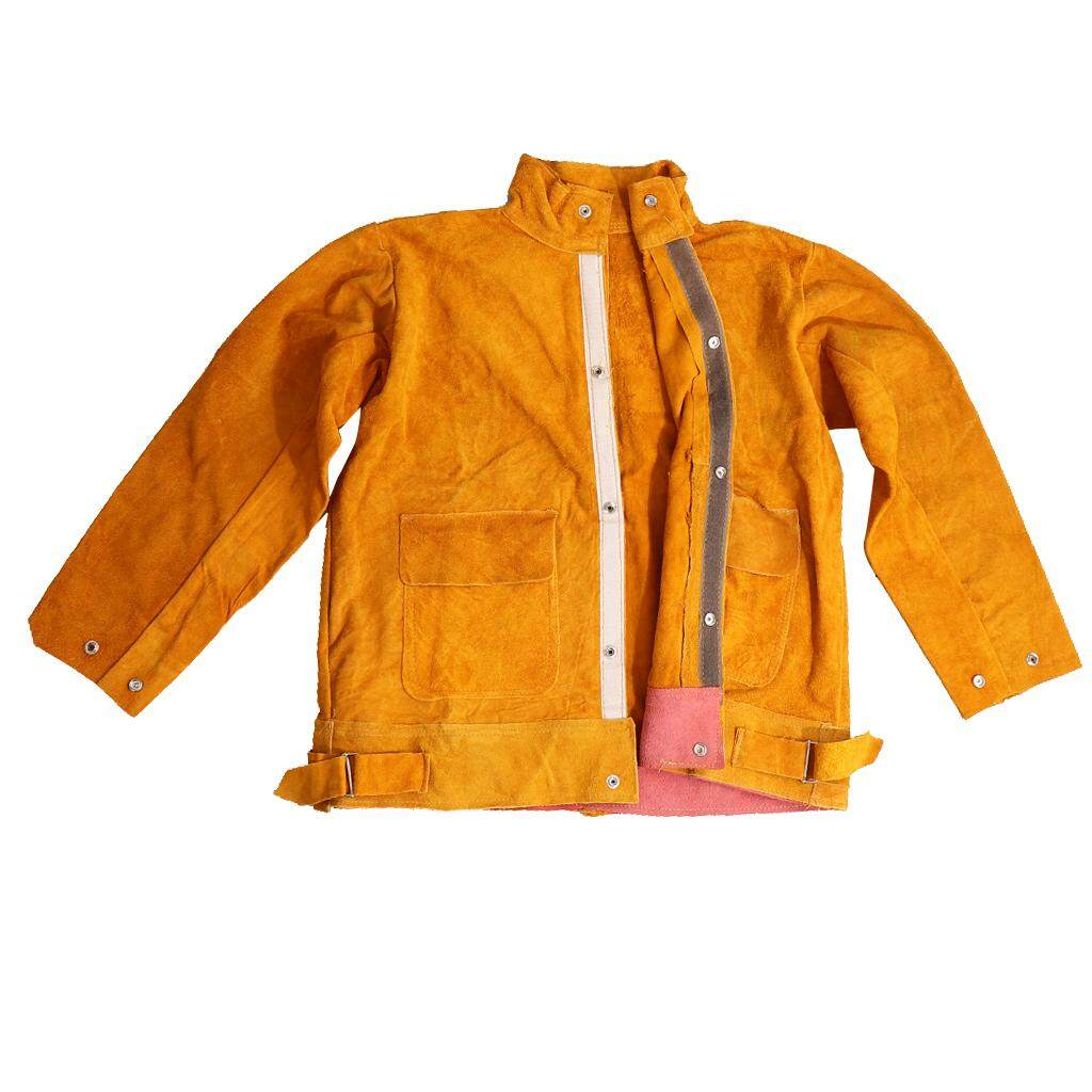 Dolity Welders Welding Jacket Protective Clothing Apparel Suit Flame-Resistant L