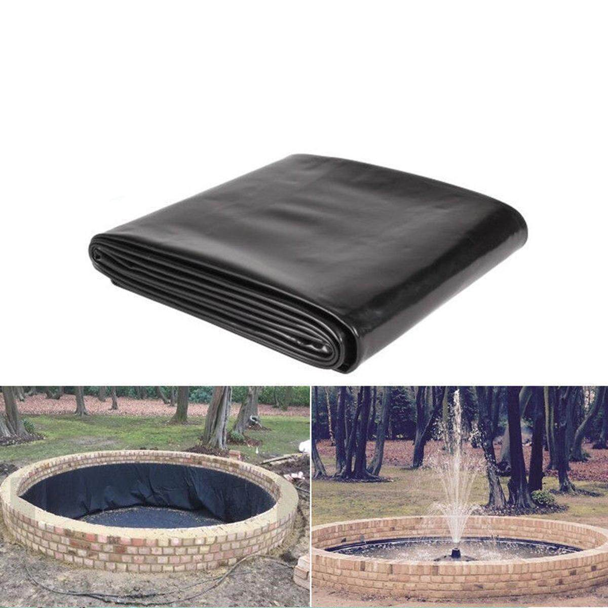 3mx1m Fish Pond Liner Gardens Pools PVC Membrane Reinforced Landscaping