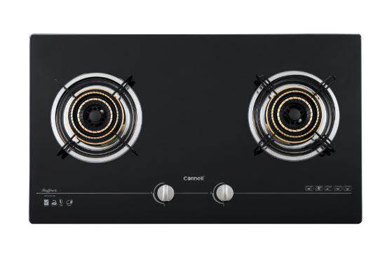 CORNELL 4.5kW 2 BURNER GLASS HOB (CBH-G7802TN)
