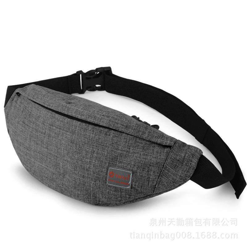 Men s Outdoor Running Waist Pack Waterproof Sports Bag Wear Resistant Shoulder  Bag 9bd6cfd87a