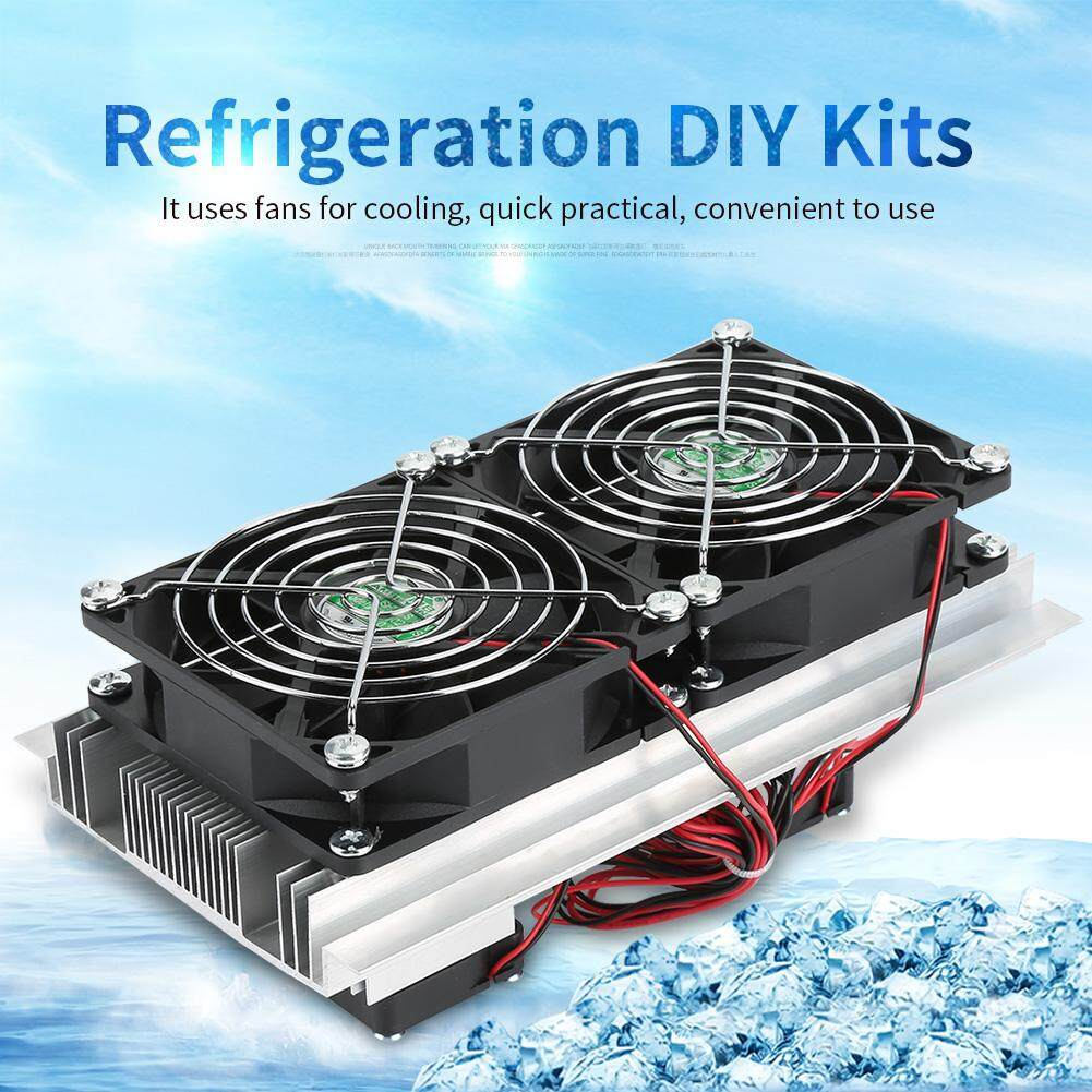 Semiconductor Refrigeration Cooling Device Thermoelectric Cooler 12A 12V DIY Mini Fridge Malaysia