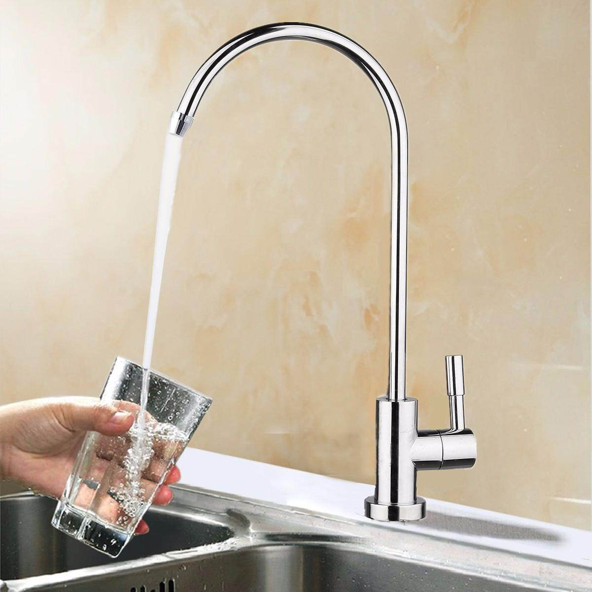 1/4 Chrome Drinking Ro Water Filter Faucet Finish Reverse Osmosis Sink Kitchen By Freebang.