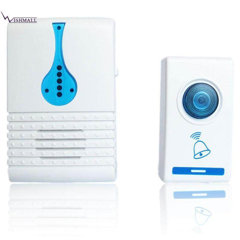 Wishmall Pager Wireless Door Bell Doorbell 0.5(W) 3(V) Remote Controls