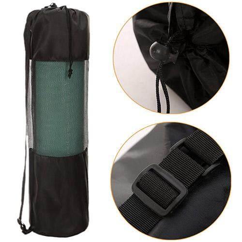 77d5803d3c Portable Magicaldream Pilates Nylon Yoga Mat Bag Carrier Mesh Center  Adjustable Strap