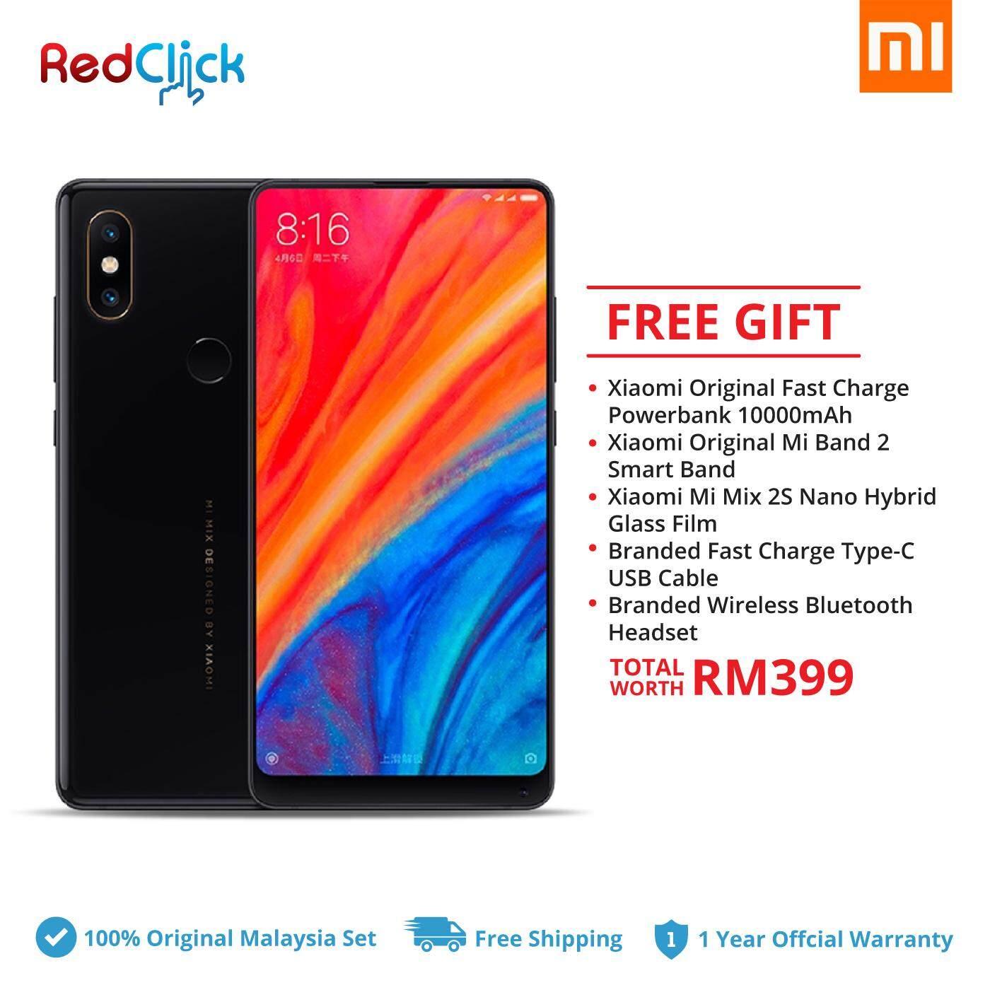 Xiaomi Mi Mix 2S (6GB/64GB) + 5 Free Gift Worth RM399