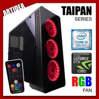 ARTIDEA NOVA TAIPAN GAMING PC ( i5-8400 / H310M MOBO / 8GB 2666MHz RAM / GTX 1060 3GB Twin Fan / 1TB HDD / FSP 500W BRONZE 80+ PSU )