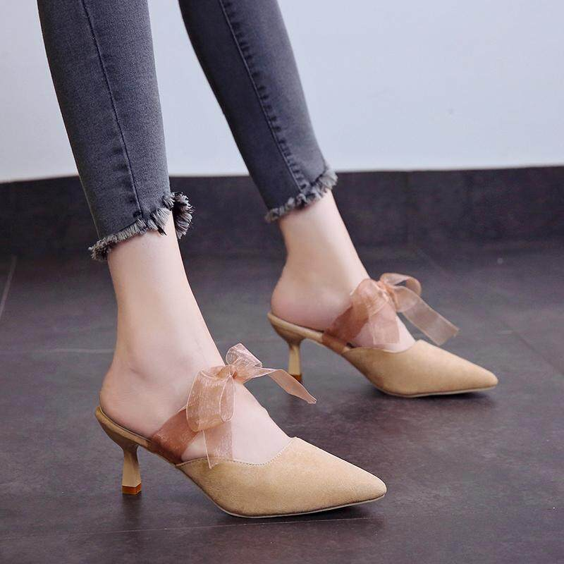 990e0c70291 2018 Brand Non-slip Comfortable Casual Elegant Heels Peep Toe Summer Women s  Shoes Woman Point