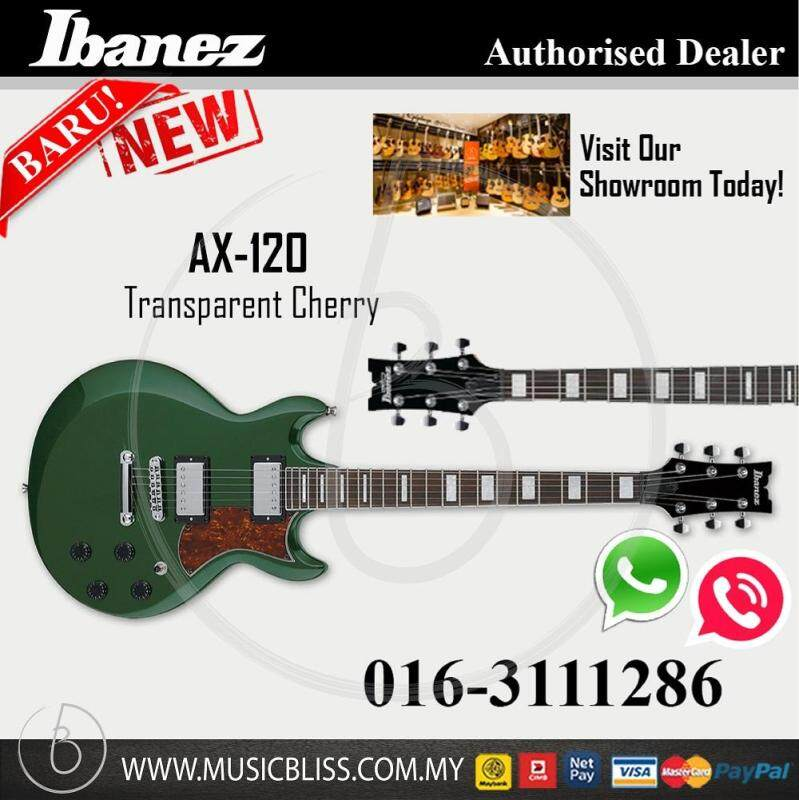 Ibanez AX120 Solidbody Electric Guitar (Metallic Forest) (AX-120) Malaysia