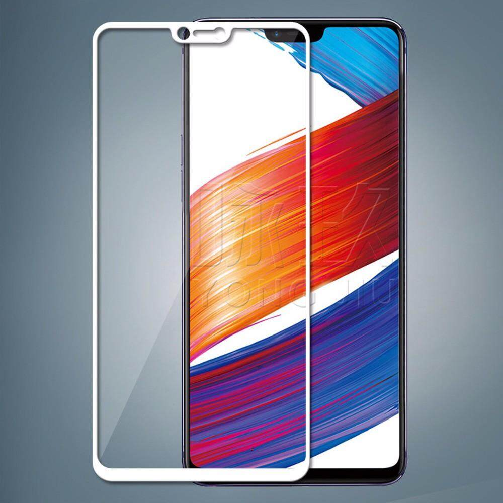 Tempered Glass For Oppo F7 Screen Protector Full Cover Protective Film For  Oppo F7-White