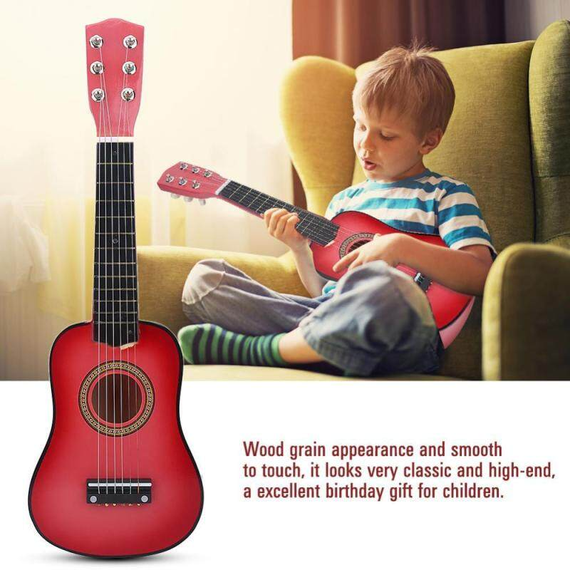 21inch Children Guitar Musical Instrument Kids Educational Toy Gift Pink Malaysia