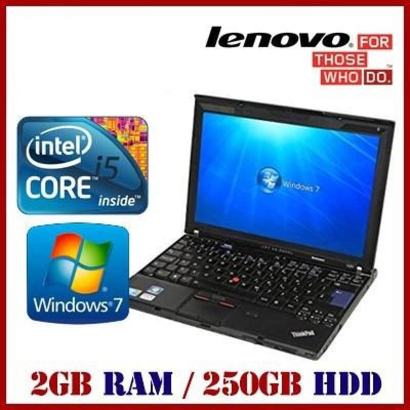 [Refurbished Laptop] Lenovo X201/ Intel i5 / 2GB RAM / 250GB HDD / Window 7 / One Month Warranty Malaysia