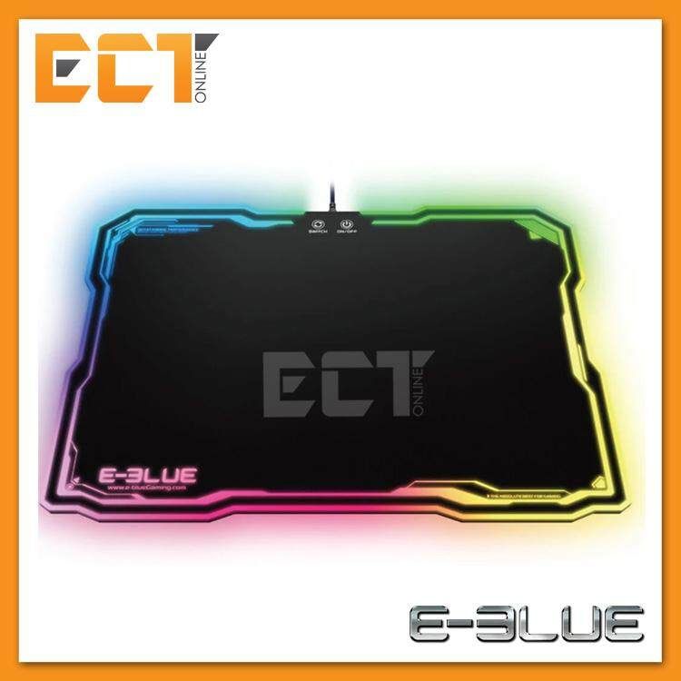 E-Blue EMP013 RGB Smooth Resin Surface Gaming Mouse Pad (EMP013BKAA-IU) Malaysia