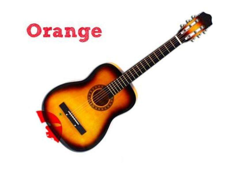 9193 38inch Guitar Orange Malaysia