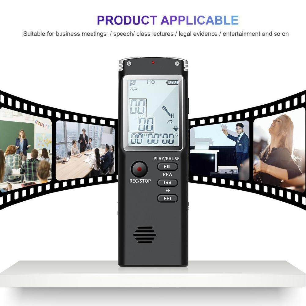 Digital Voice Recorders For The Best Price In Malaysia Speech Recorder Lissng T60 Original 16gb Usb Professional Dictaphone Audio With High Grade