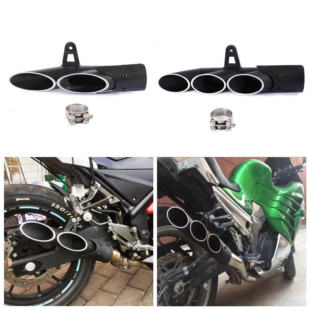 45mm/51mm Morocycle Exhaust Muffler Pipe Muffler Tips for Yamaha YZF R6  2006-2017(45MM)