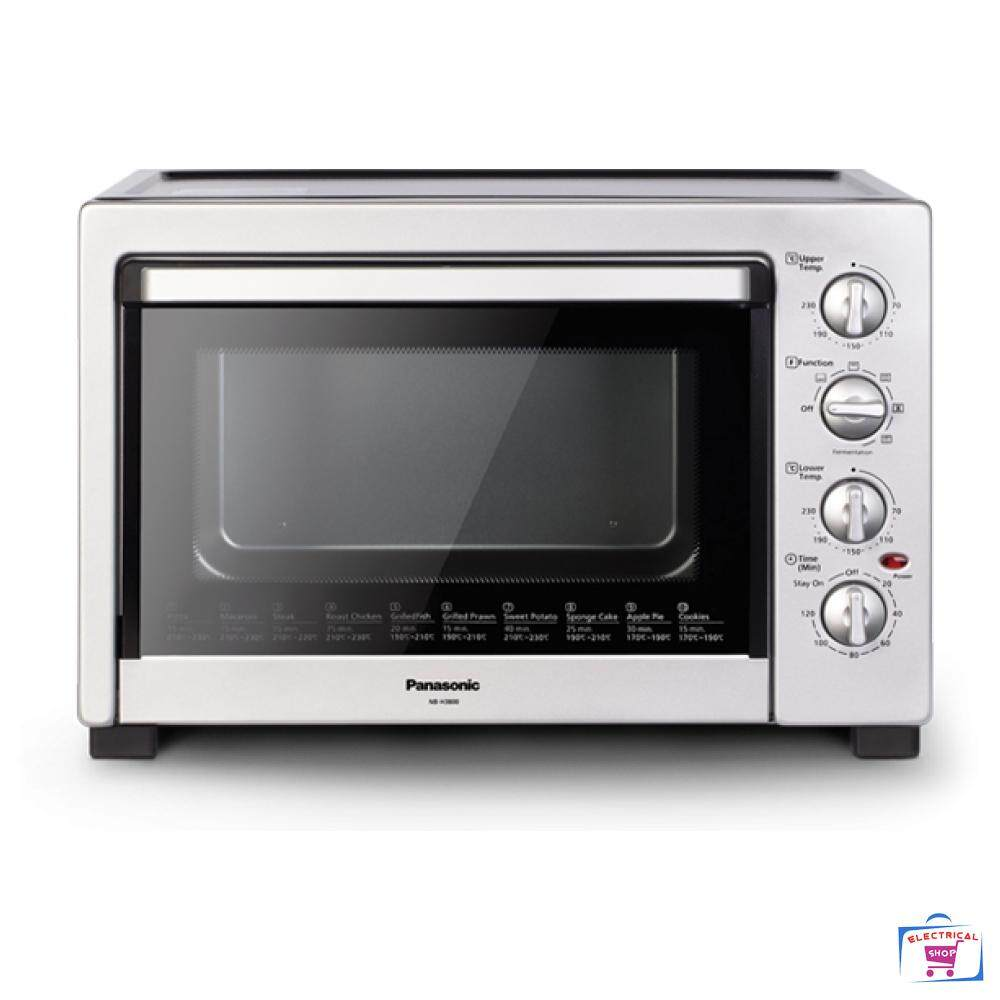 Panasonic NB-H3800SSK Electric Oven (38L) 360° Heat Distribution