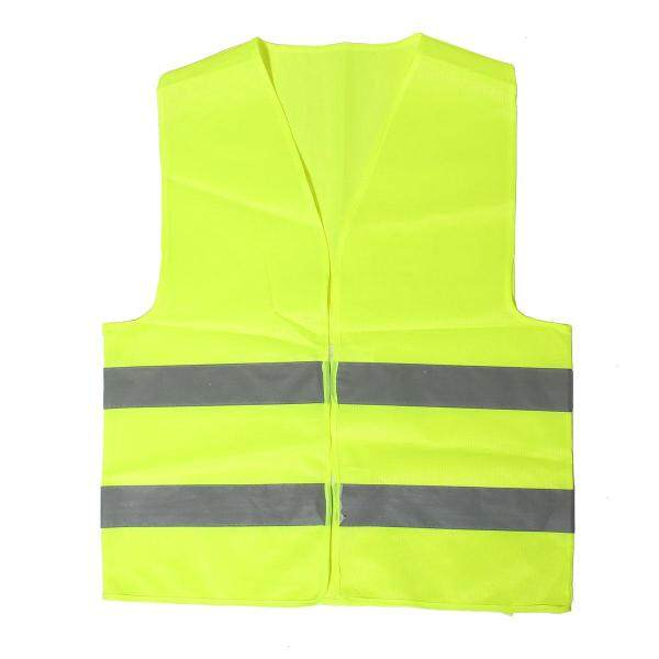 Visibility Reflective Safety Vests Environmental Sanitation Coat - yellow