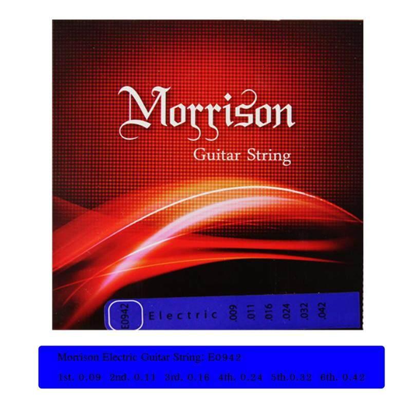 Morrison Electric Guitar String Set (.009-.042) Nickel Wound Electric Guitar String Light Tension String Set Malaysia