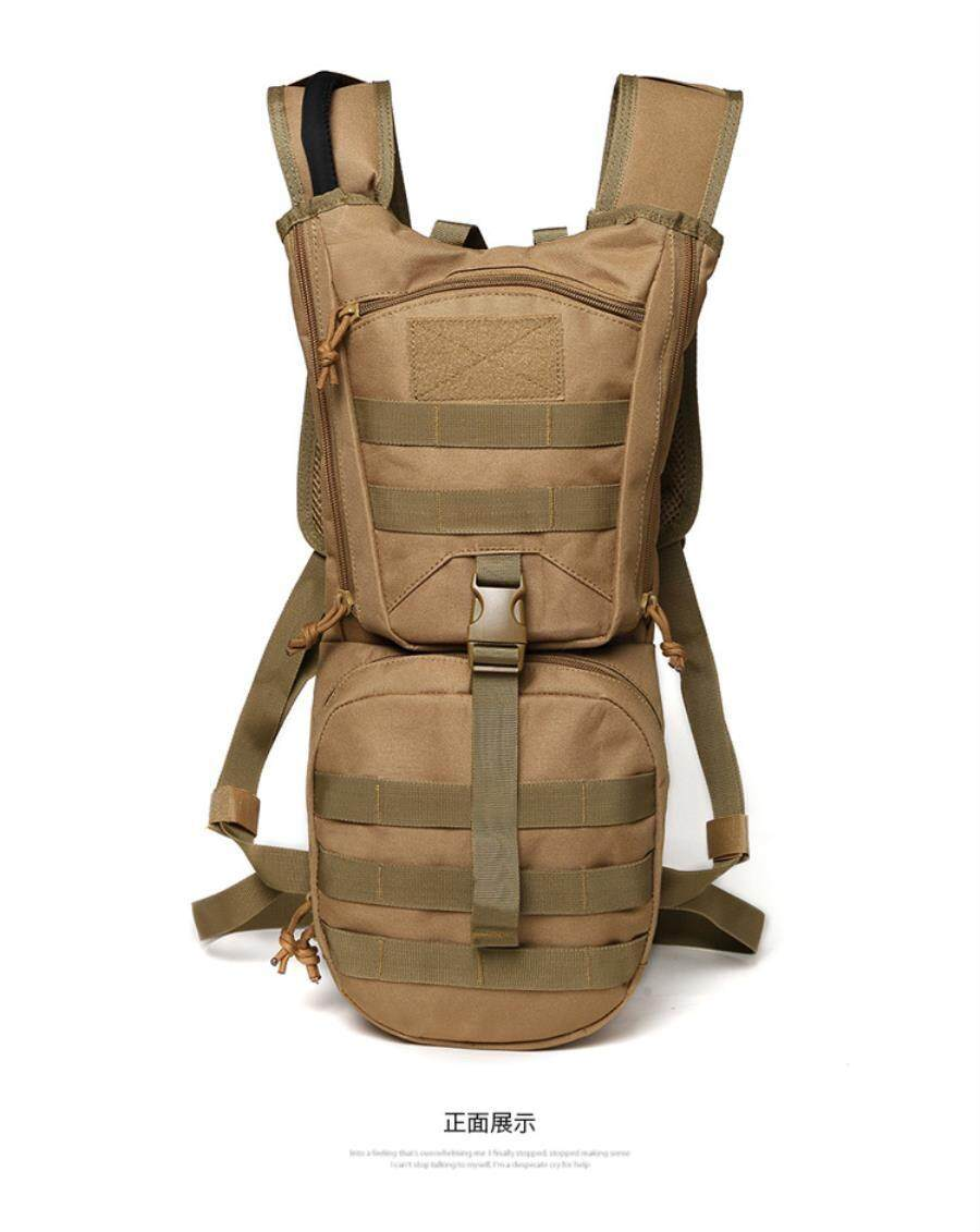 c9b4d9c5133c Outdoor Cycling Mountaineering Shoulder Bag Large Capacity Rock Climbing  Camouflage Backpack Tactical Water Bag Backpack Oxford