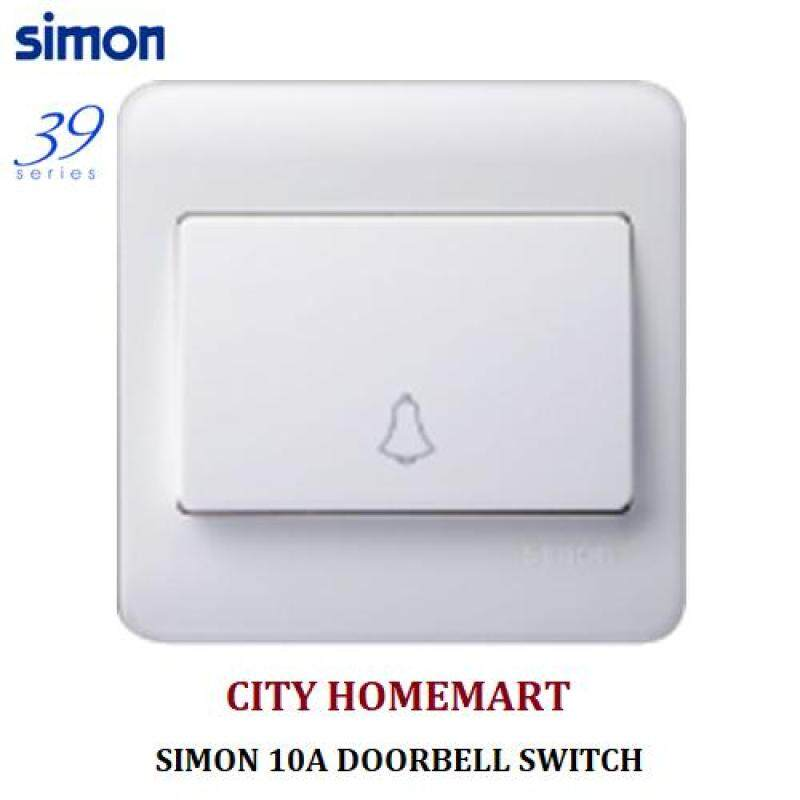 SIMON 36301B - 10A DOORBELL 39SERIES SWITCHES (WHITE)