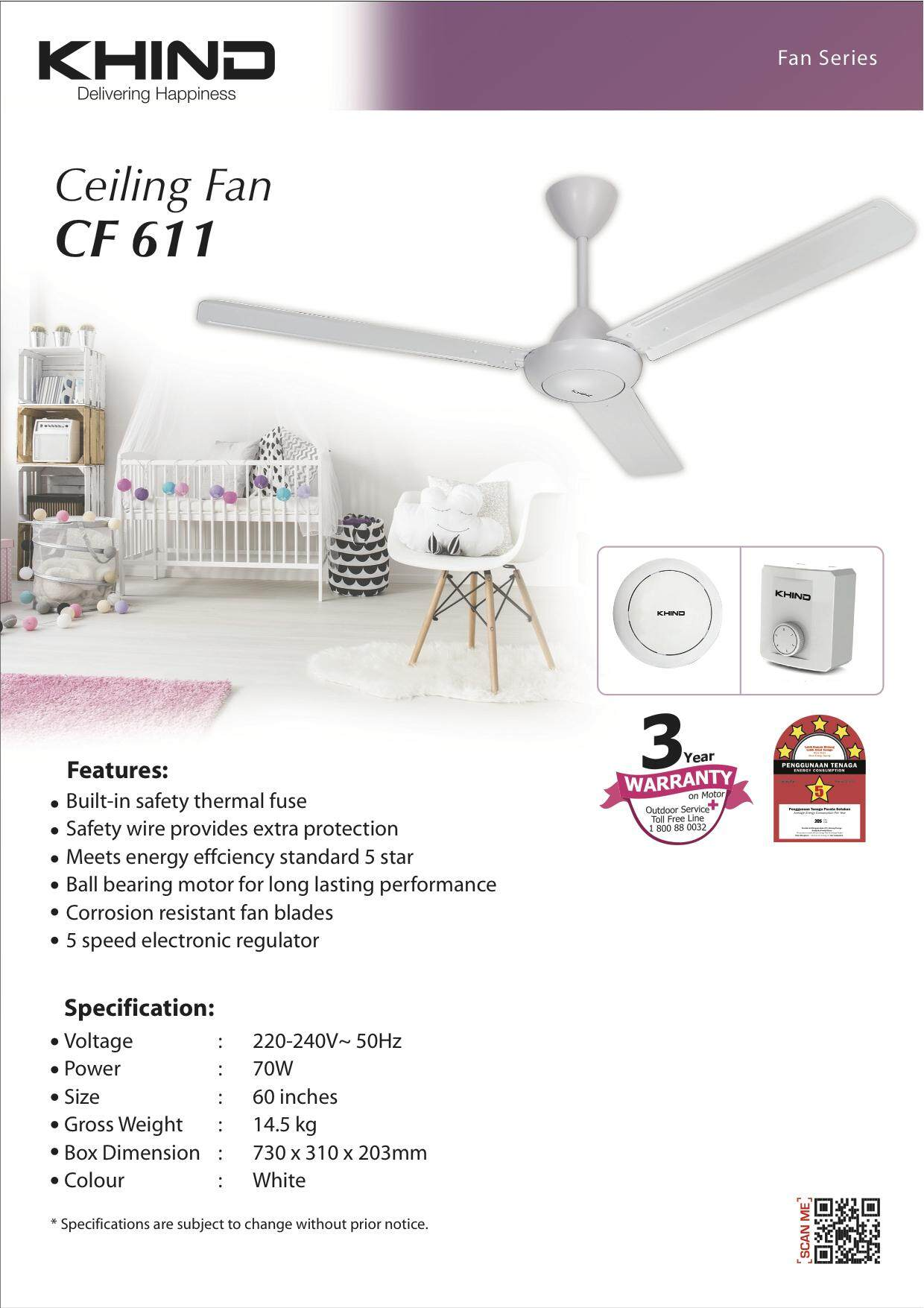 Latest Branded Fans With Best Online Price In Malaysia Lasko Box Fan Fuse Khind Ceiling Cf611