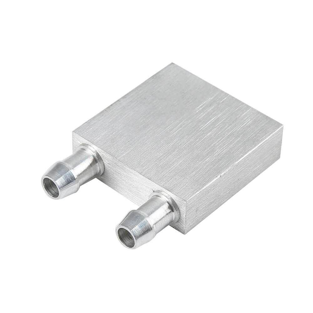 40 x 40mm Mini Aluminum Water Cooling Radiator Liquid Cooler Waterblock for CPU Malaysia