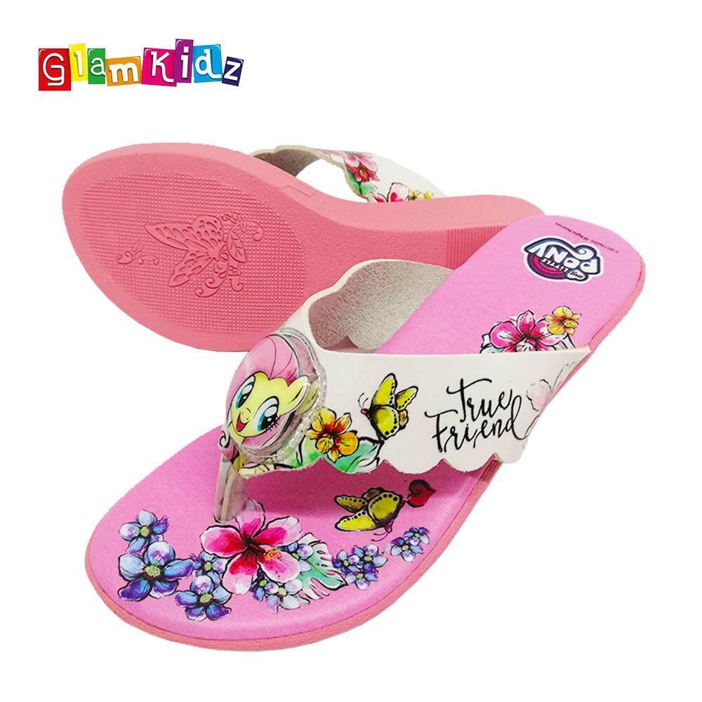 cf751ba5fbc GlamKidz My Little Pony Girls Shoes With LED   Sandals (Pink)  6235