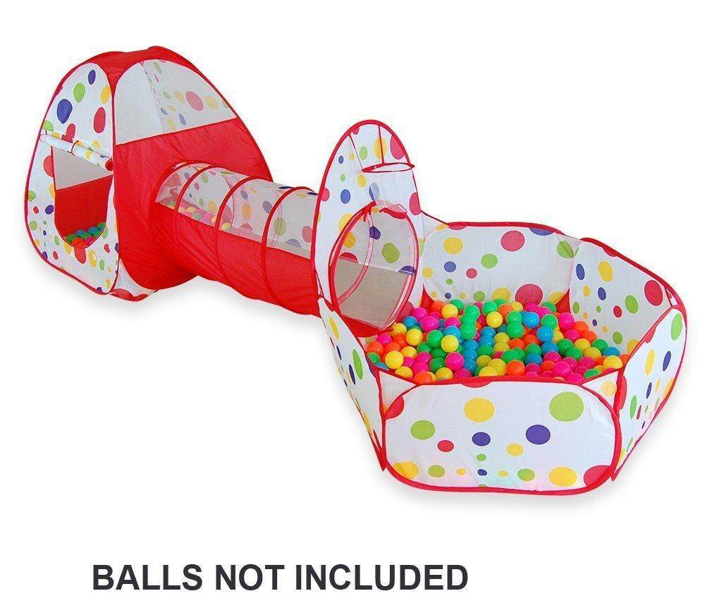 SpringBuds 3pc Kids Play Tent Crawl Tunnel and Ball Pit Pop Up Bounce Playhouse Tent with  sc 1 st  Lazada & Play Tents u0026 Tunnels - Buy Play Tents u0026 Tunnels at Best Price in ...